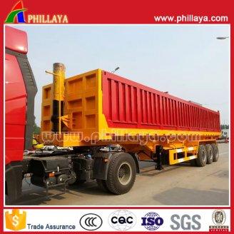 3axles container dump trailer