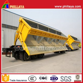 Double Dump Semi Trailer