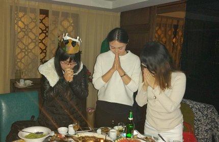 The employee's birthday party, Nov 2015