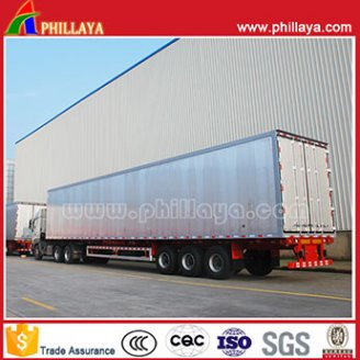 Aluminum Alloy Van Semi Trailer