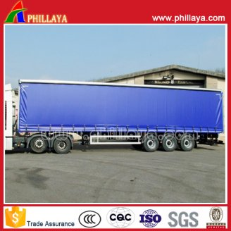 Side  pulling curtain  trailer