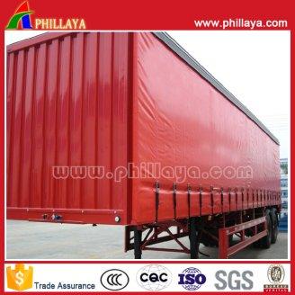 Side curtain semi trailer