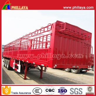 Fence semi trailer