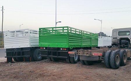 100 units  drawbar trailer export Nigeria, In May 2016